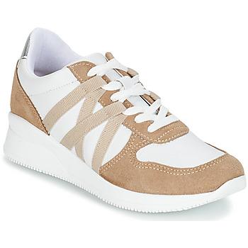 Cipők Női Rövid szárú edzőcipők André ALLURE Bézs