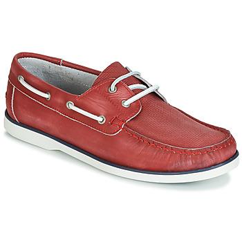 Cipők Férfi Vitorlás cipők André PORT CROS Piros
