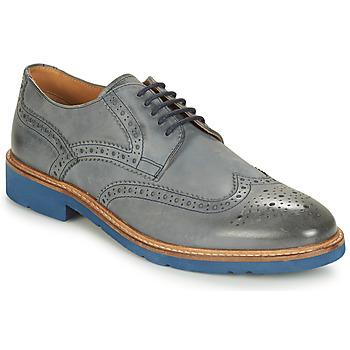 Cipők Férfi Oxford cipők André FLOWER Szürke / Kék