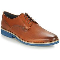 Cipők Férfi Oxford cipők André CANOE Konyak / Kék