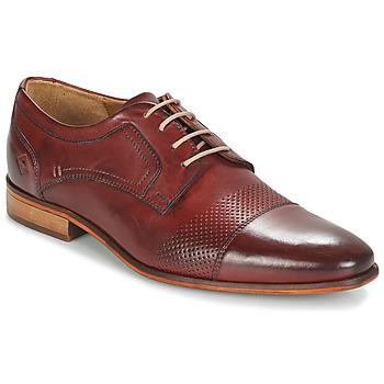 Cipők Férfi Oxford cipők André LIVING Bordó