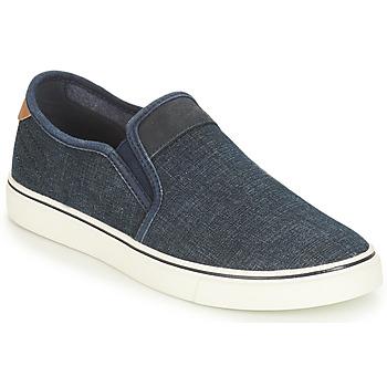 Cipők Férfi Belebújós cipők André CLAPAUX Kék
