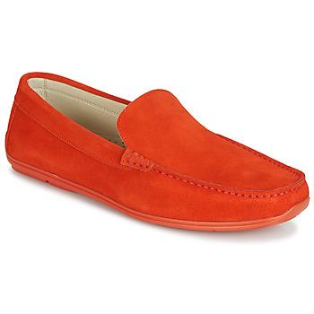 Cipők Férfi Mokkaszínek André BIGOLO Narancssárga