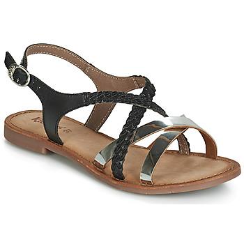 Cipők Női Szandálok / Saruk Kickers ETHY Fekete