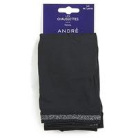 Textil kiegészítők Női Zoknik André MARGUERITE Fekete