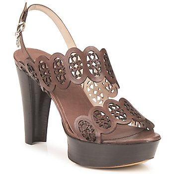 Cipők Női Szandálok / Saruk Fabi PANAMA Barna