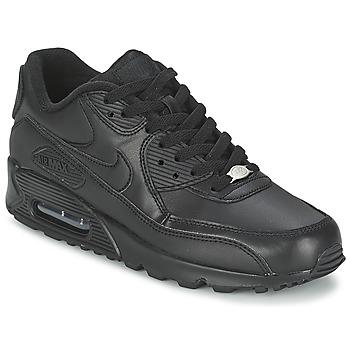 Cipők Férfi Rövid szárú edzőcipők Nike AIR MAX 90 Fekete