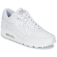 Cipők Férfi Rövid szárú edzőcipők Nike AIR MAX 90 Fehér