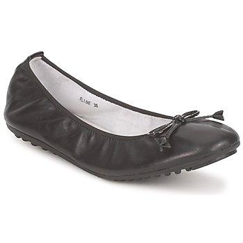 Cipők Női Balerina cipők / babák Mac Douglas ELIANE Fekete