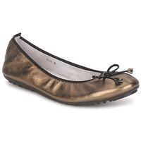 Cipők Női Balerina cipők / babák Mac Douglas ELIANE Bronz / Fekete  / Lakkozott