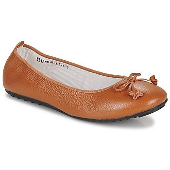 Cipők Női Balerina cipők / babák Mac Douglas ELIANE Gesztenye
