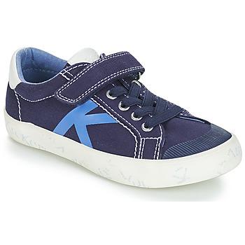 Cipők Fiú Rövid szárú edzőcipők Kickers GODY Tengerész