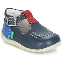 Cipők Gyerek Balerina cipők / babák Kickers BONBEK Tengerész