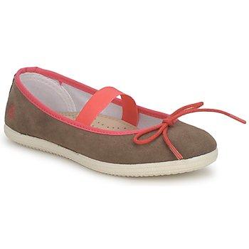 Cipők Lány Balerina cipők / babák Petit Bateau KITY KID Keki