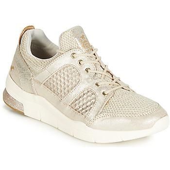 Cipők Női Rövid szárú edzőcipők Mustang 1305304-482 Arany