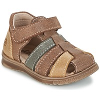 Shoes Fiú Szandálok / Saruk Citrouille et Compagnie FRINOUI Barna / Sokszínű
