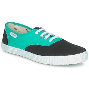Cipők Rövid szárú edzőcipők Victoria 6651 Cián / Fekete
