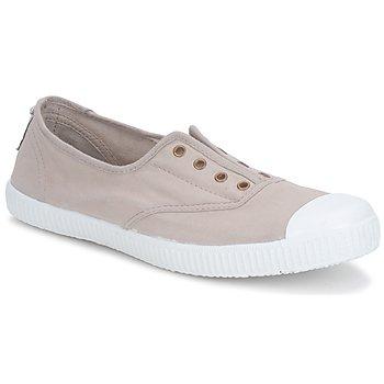 Cipők Női Rövid szárú edzőcipők Victoria 6623 Bézs