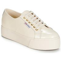 Cipők Női Rövid szárú edzőcipők Superga 2790 LEAPATENT Ekrü