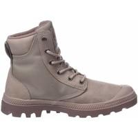 Cipők Női Magas szárú edzőcipők Palladium Manufacture Buty lifestylowe  Pampa Sport Cuff WPN 73234-659-M różowy