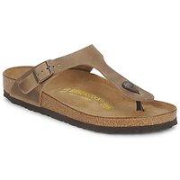 Shoes Női Lábujjközös papucsok Birkenstock GIZEH Barna