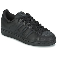 Cipők Rövid szárú edzőcipők adidas Originals SUPERSTAR FOUNDATION Fekete
