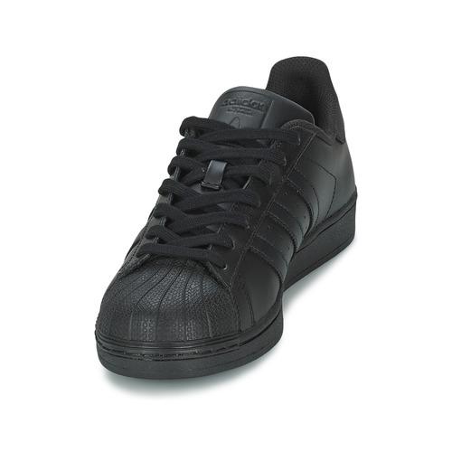 adidas Originals SUPERSTAR FOUNDATION Fekete - Ingyenes Kiszállítás