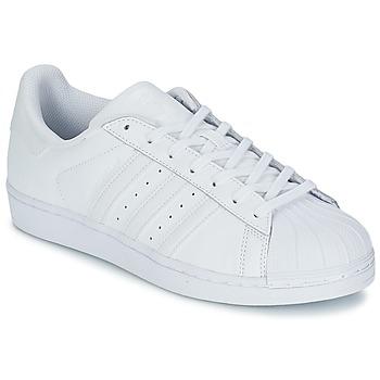 Cipők Rövid szárú edzőcipők adidas Originals SUPERSTAR FOUNDATION Fehér