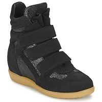 Cipők Lány Magas szárú edzőcipők Acebo's MILLIE Fekete