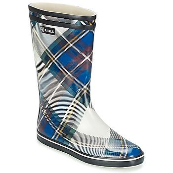 Shoes Női Gumicsizmák Aigle MALOUINE PRINT Tengerész
