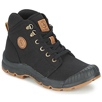Cipők Férfi Magas szárú edzőcipők Aigle TENERE LIGHT Fekete
