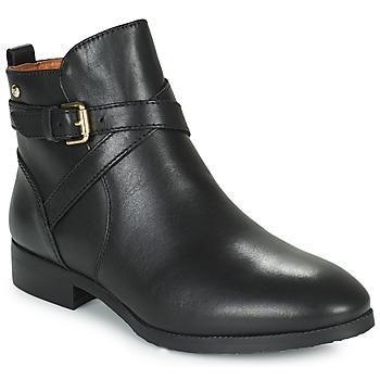 Cipők Női Csizmák Pikolinos ROYAL BO Fekete