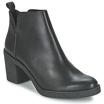 Cipők Női Bokacsizmák Miista KENDALL Fekete