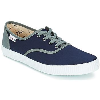 Cipők Rövid szárú edzőcipők Victoria INGLESA LONA DETALL CONTRAS Tengerész