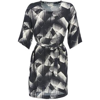 Ruhák Női Rövid ruhák Nümph GINGER Fekete  / Fehér