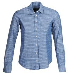 Ruhák Női Ingek / Blúzok Gant EXUNIDE Kék