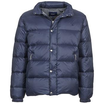 Ruhák Férfi Steppelt kabátok Gant GUIDOULE Tengerész