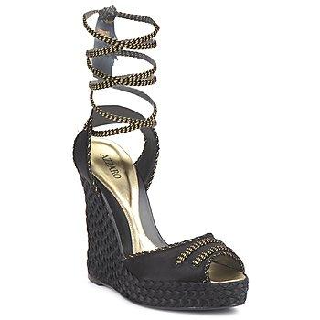 Cipők Női Szandálok / Saruk Azzaro LUGGANO Fekete