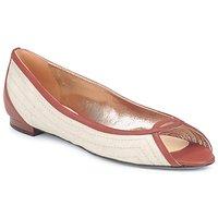 Cipők Női Balerina cipők / babák Azzaro JOUR Bézs / Teve