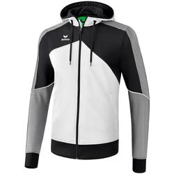 Ruhák Férfi Melegítő kabátok Erima Veste à capuche  Premium One 2.0 blanc/bleu/noir
