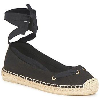 Cipők Női Gyékény talpú cipők Jonak JIMENA Fekete