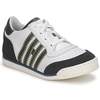 Cipők Gyerek Rövid szárú edzőcipők Hip ARCHIK Fehér / Kék