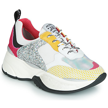 Cipők Női Rövid szárú edzőcipők Meline PUNKY DADDY Fehér / Rózsaszín