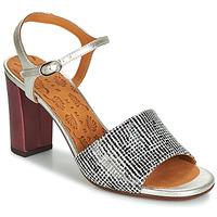 Cipők Női Szandálok / Saruk Chie Mihara PARIGI Ezüst / Fekete