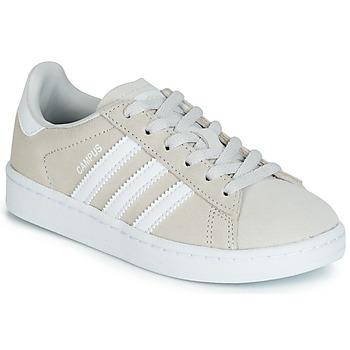 Cipők Gyerek Rövid szárú edzőcipők adidas Originals CAMPUS C Szürke