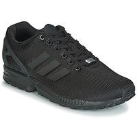 Cipők Férfi Rövid szárú edzőcipők adidas Originals ZX FLUX Fekete