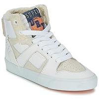 Shoes Női Magas szárú edzőcipők Superdry MARIAH HIGH TOP Fehér