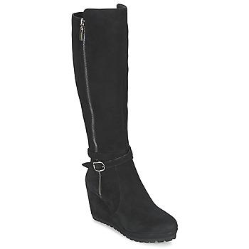Cipők Női Városi csizmák Moda In Pelle SITA Fekete