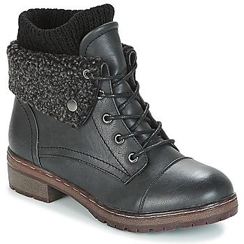 Cipők Női Csizmák Coolway BRING Fekete