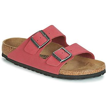 Cipők Női Papucsok Birkenstock ARIZONA Piros